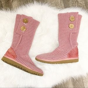 UGG Kids Cardy Slouched or Cuffed Lightweight Boot